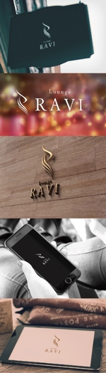 katsu31さんのラウンジの看板と名刺に使うロゴ制作への提案