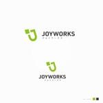 ue_taroさんのものつくりからデータ作成まで行う試作開発業「ジョイワークス」の会社ロゴへの提案