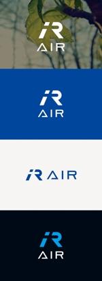 tanaka10さんの空調業(エアコン業)です。「AIR」を使ったロゴ作成依頼への提案