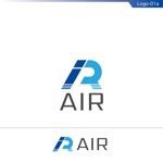 fs8156さんの空調業(エアコン業)です。「AIR」を使ったロゴ作成依頼への提案