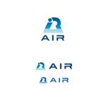 K-digitalsさんの空調業(エアコン業)です。「AIR」を使ったロゴ作成依頼への提案