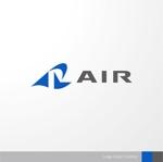 sa_akutsuさんの空調業(エアコン業)です。「AIR」を使ったロゴ作成依頼への提案