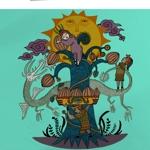 Cocokarahajimeruさんの【壁面のイラスト】(ウォールアート)のデザインをお願いします @カカオパークへの提案