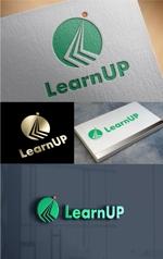t-youhaさんの学びを通じてキャリアアップを目指す人のためのWebメディア「LearnUp」のロゴ&ファビコンへの提案