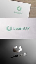 zeross_designさんの学びを通じてキャリアアップを目指す人のためのWebメディア「LearnUp」のロゴ&ファビコンへの提案