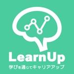 Cbt_Pkmさんの学びを通じてキャリアアップを目指す人のためのWebメディア「LearnUp」のロゴ&ファビコンへの提案