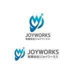 saki8さんのものつくりからデータ作成まで行う試作開発業「ジョイワークス」の会社ロゴへの提案