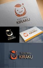 t-youhaさんのリラクゼーションサロン  「にこにこサロン KIRAKU」 のロゴへの提案