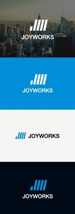 tanaka10さんのものつくりからデータ作成まで行う試作開発業「ジョイワークス」の会社ロゴへの提案