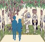 mszakumo6さんの【壁面のイラスト】(ウォールアート)のデザインをお願いします @カカオパークへの提案