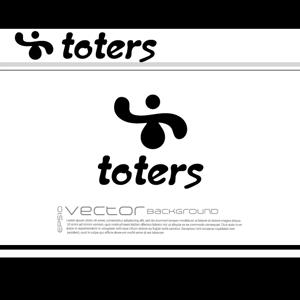 chopin1810lisztさんのトートバッグ、Tシャツ、ポロシャツ等のブランド「toters」のロゴへの提案