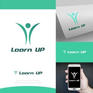fortunaaberさんの学びを通じてキャリアアップを目指す人のためのWebメディア「LearnUp」のロゴ&ファビコンへの提案