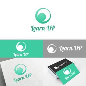 minervaabbeさんの学びを通じてキャリアアップを目指す人のためのWebメディア「LearnUp」のロゴ&ファビコンへの提案