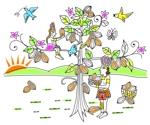 Ima_114510さんの【壁面のイラスト】(ウォールアート)のデザインをお願いします @カカオパークへの提案