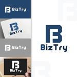 charisabseさんの不動産会社新規設立『株式会社BizTry』のロゴへの提案