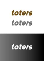 chappy02さんのトートバッグ、Tシャツ、ポロシャツ等のブランド「toters」のロゴへの提案