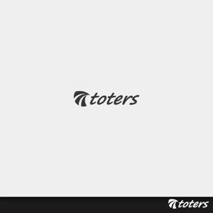 tomotinさんのトートバッグ、Tシャツ、ポロシャツ等のブランド「toters」のロゴへの提案