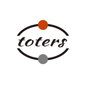 tokiwa_0219さんのトートバッグ、Tシャツ、ポロシャツ等のブランド「toters」のロゴへの提案
