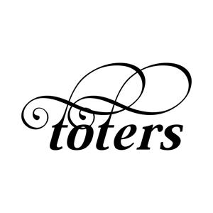 stackさんのトートバッグ、Tシャツ、ポロシャツ等のブランド「toters」のロゴへの提案