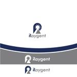 wisteriaquaさんの広告会社「Raygent(レイジェント)」のロゴへの提案