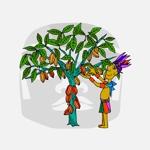 studiotabbyさんの【壁面のイラスト】(ウォールアート)のデザインをお願いします @カカオパークへの提案