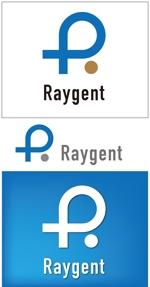 taki-5000さんの広告会社「Raygent(レイジェント)」のロゴへの提案