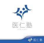 hiko-kzさんの医療系企業担当者の勉強会『医仁塾』のロゴへの提案