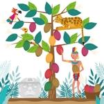 bun3さんの【壁面のイラスト】(ウォールアート)のデザインをお願いします @カカオパークへの提案
