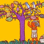 iziz1984さんの【壁面のイラスト】(ウォールアート)のデザインをお願いします @カカオパークへの提案