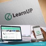 nekosuさんの学びを通じてキャリアアップを目指す人のためのWebメディア「LearnUp」のロゴ&ファビコンへの提案