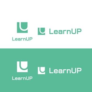 saki8さんの学びを通じてキャリアアップを目指す人のためのWebメディア「LearnUp」のロゴ&ファビコンへの提案