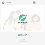 onesizefitsallさんの学びを通じてキャリアアップを目指す人のためのWebメディア「LearnUp」のロゴ&ファビコンへの提案