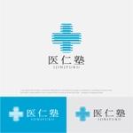 drkigawaさんの医療系企業担当者の勉強会『医仁塾』のロゴへの提案