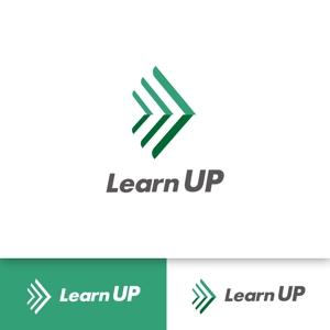 nomadesignさんの学びを通じてキャリアアップを目指す人のためのWebメディア「LearnUp」のロゴ&ファビコンへの提案