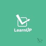 skyktmさんの学びを通じてキャリアアップを目指す人のためのWebメディア「LearnUp」のロゴ&ファビコンへの提案