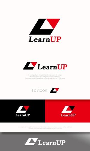 mahou-photさんの学びを通じてキャリアアップを目指す人のためのWebメディア「LearnUp」のロゴ&ファビコンへの提案