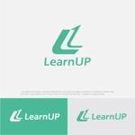 drkigawaさんの学びを通じてキャリアアップを目指す人のためのWebメディア「LearnUp」のロゴ&ファビコンへの提案