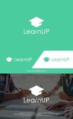 take5-designさんの学びを通じてキャリアアップを目指す人のためのWebメディア「LearnUp」のロゴ&ファビコンへの提案