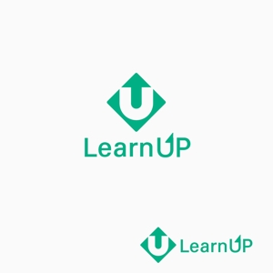 atomgraさんの学びを通じてキャリアアップを目指す人のためのWebメディア「LearnUp」のロゴ&ファビコンへの提案