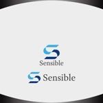 Nakamura__さんのセミナー、コンサルティング運営会社「Sensible」のロゴへの提案