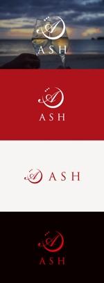 tanaka10さんのホストクラブ「ASH」のロゴへの提案