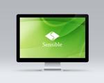 Okumachiさんのセミナー、コンサルティング運営会社「Sensible」のロゴへの提案