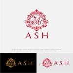drkigawaさんのホストクラブ「ASH」のロゴへの提案