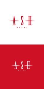 atariさんのホストクラブ「ASH」のロゴへの提案