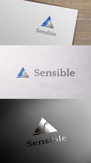 zeross_designさんのセミナー、コンサルティング運営会社「Sensible」のロゴへの提案
