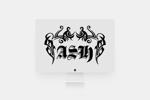 haru-bouさんのホストクラブ「ASH」のロゴへの提案