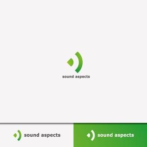 weborgさんの【選定確約】インターネット関連事業新会社「株式会社サウンドアスペクツ」の会社ロゴ制作依頼への提案