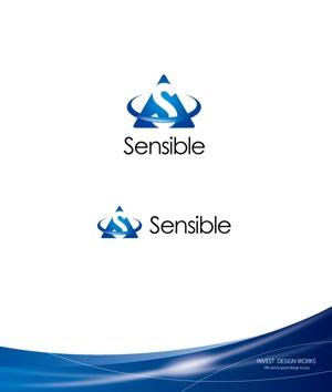 investさんのセミナー、コンサルティング運営会社「Sensible」のロゴへの提案