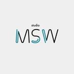 音楽リハーサルスタジオ「studio MSW」のロゴへの提案