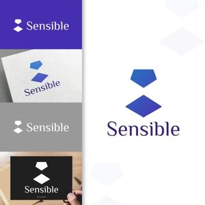 charisabseさんのセミナー、コンサルティング運営会社「Sensible」のロゴへの提案